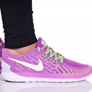 Nike Free RN 5.0 Girls Running Shoes NEW